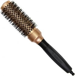"Четка за изсушаване - Hairway Ceramic Brush ""Gold Ceramic & Ionic"" 33 мм"