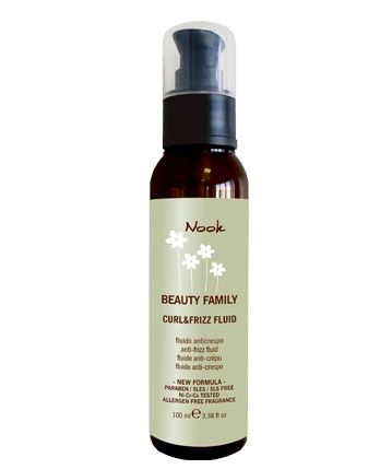 Fluid за къдрици с еластин - Nook Beauty Family Curl & Frizz Fluid 100 мл