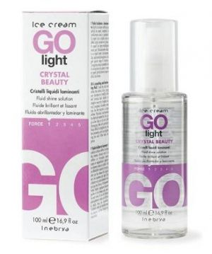 Течни ламиниращи кристали Go light crystal beauty Inebrya Shecare Ice Cream 100мл.