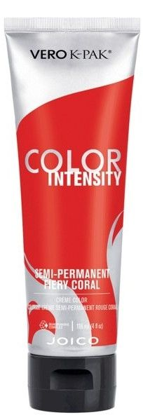 Интензивен пигмент огнен корал - Joico Vero K-Pak Color Intensity Semi-Permanent Hair Color Fiery Coral 118 мл